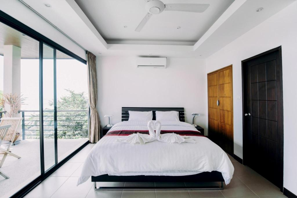 Bed Unforgettable Panoramic View Villa