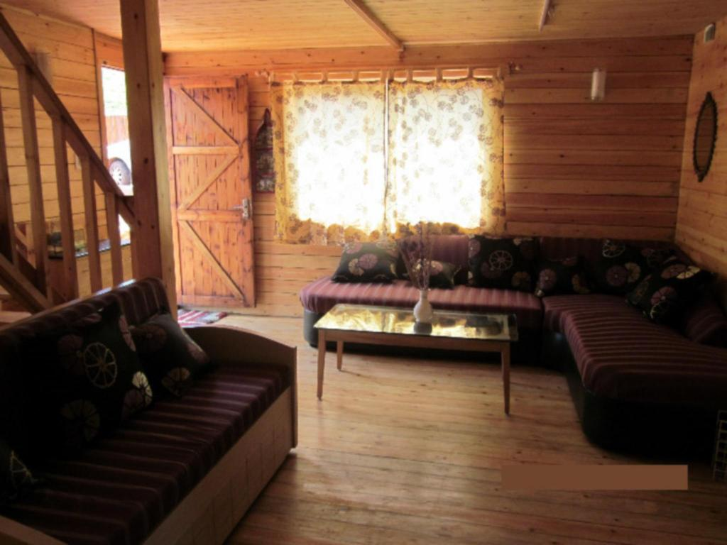Interior view Darpan Wooden Home With Serene Surrounding