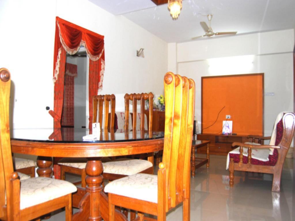 Interior view Homes Kottayam 3Br Flat For Vacation Daily Rent In