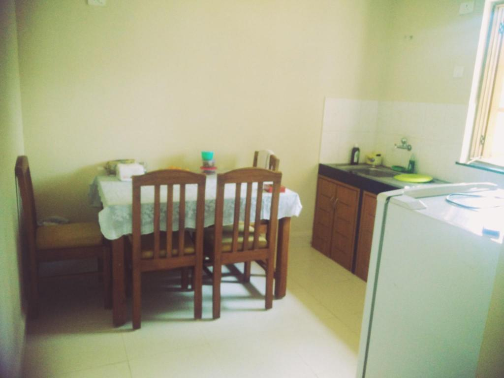 Dining room/area Fully Furnished 2Br Apartment With Pool