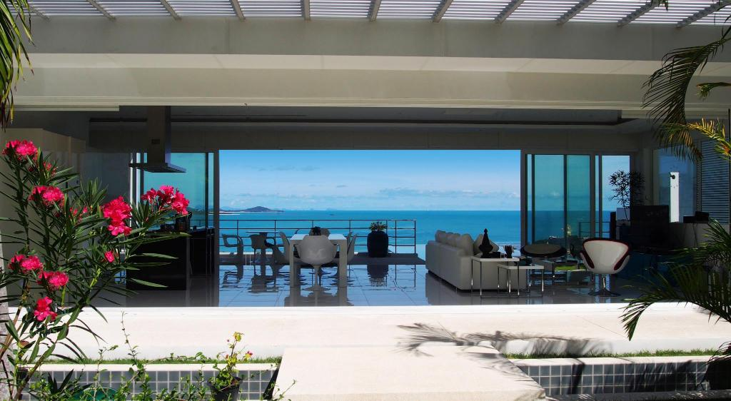 View from inside Villa Blanche 4Br With View Of Bay Bangrak