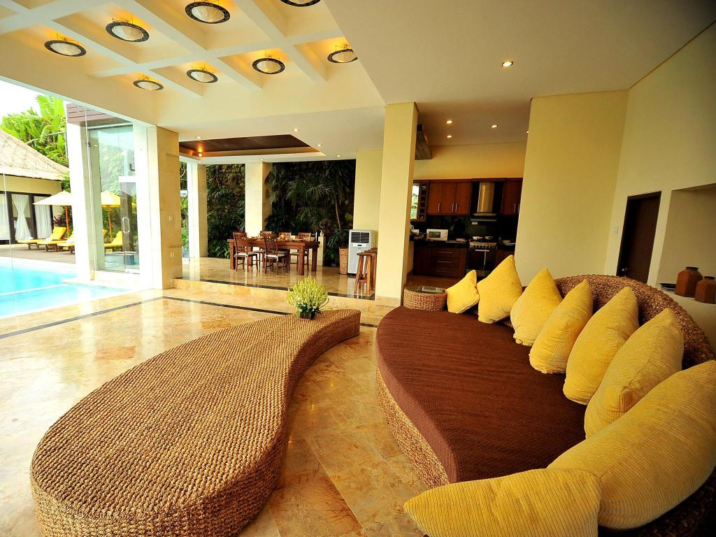 Interior view Nagisa Bali Luxurious 4 Br With Private Large Pool
