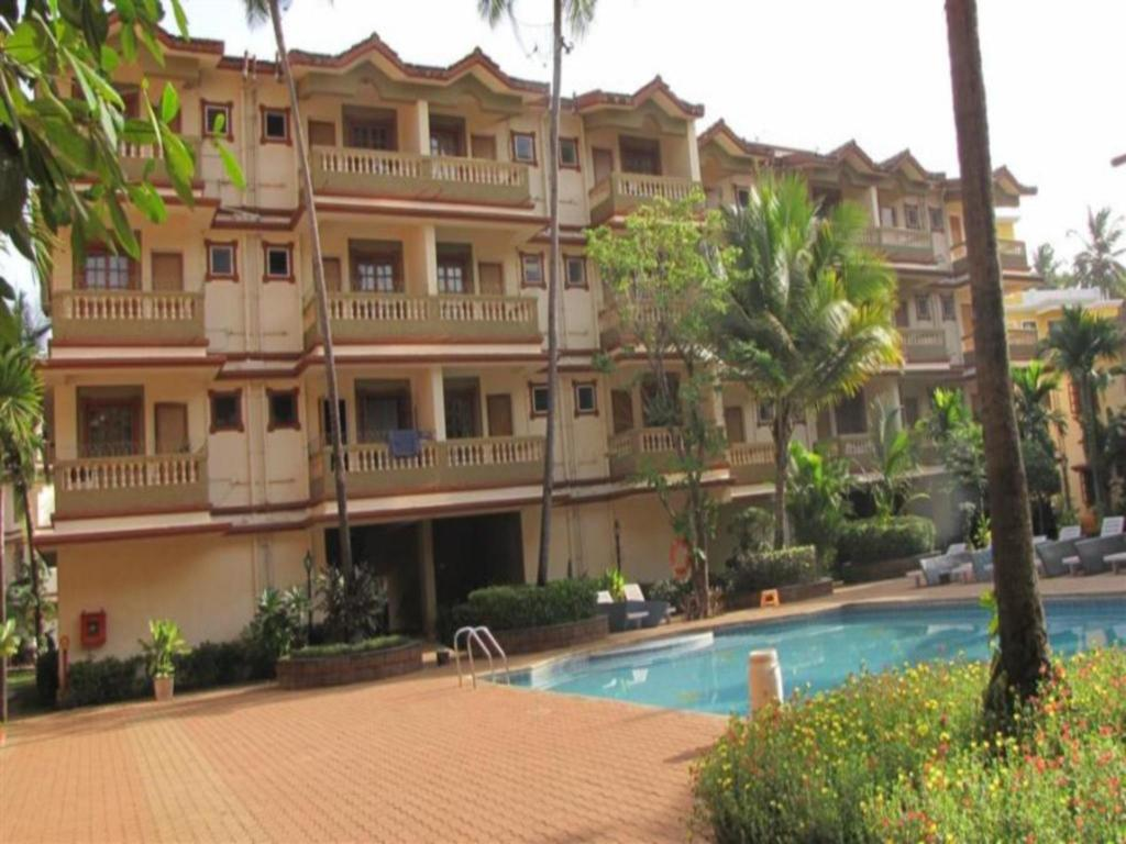 Πισίνα Highland Beach Resort 1Br In Candolim