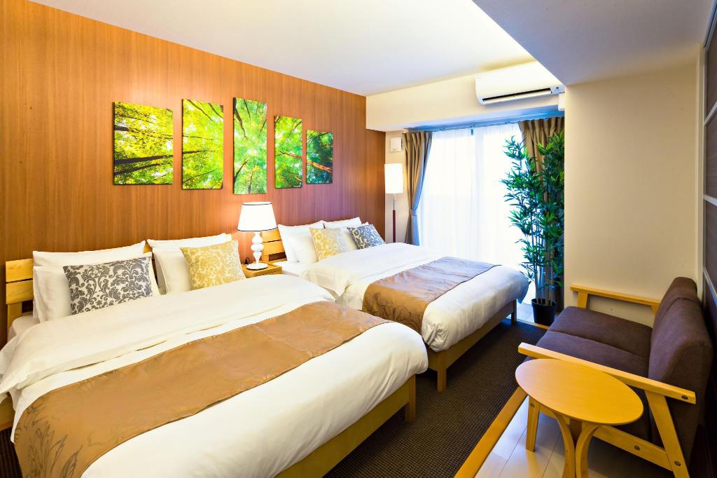 Standard Room for 5 People - Non-Smoking Premias Umeda
