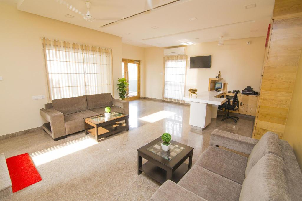 Lobby KK Inn Serviced Apartment - Guduvancherry