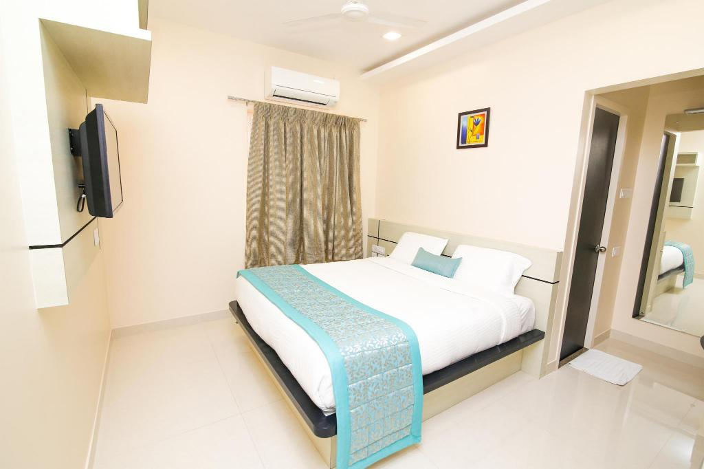 Deluxe Room - Guestroom KK Inn Serviced Apartment - Guduvancherry