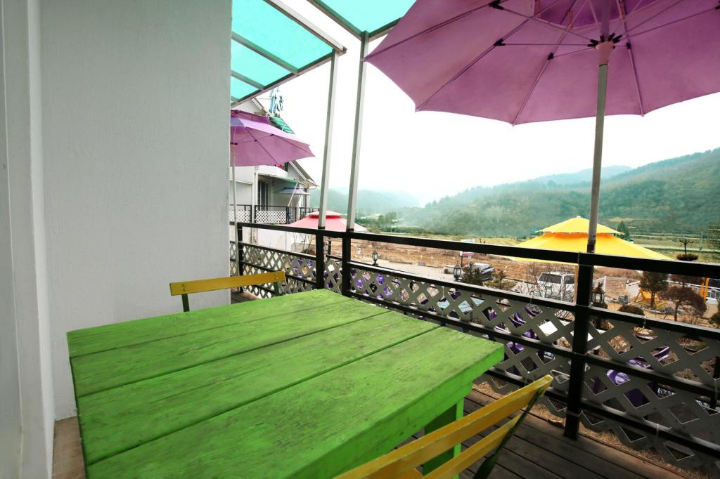 Balkon Chuncheon Hue Pension