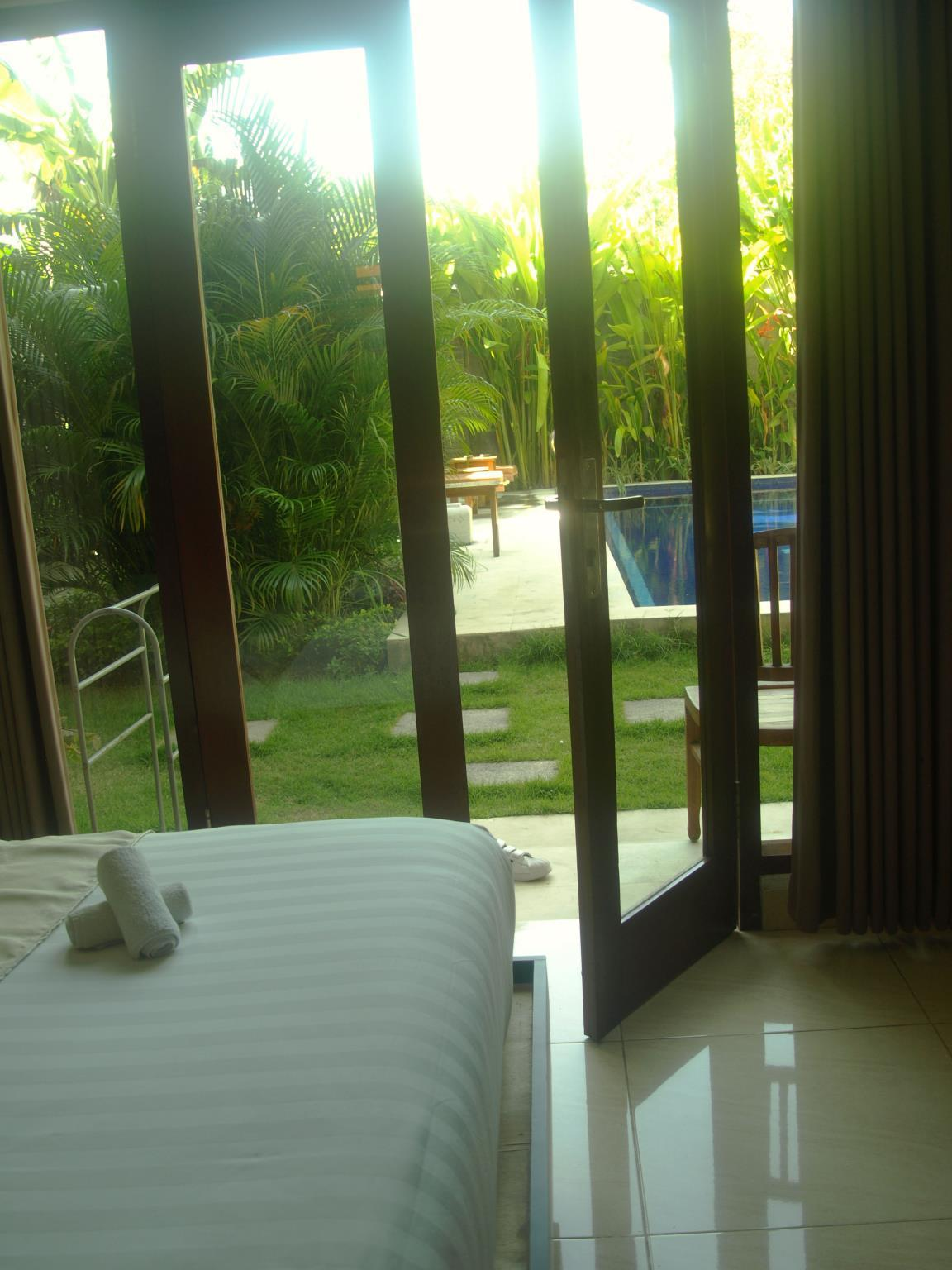 Double room pool view