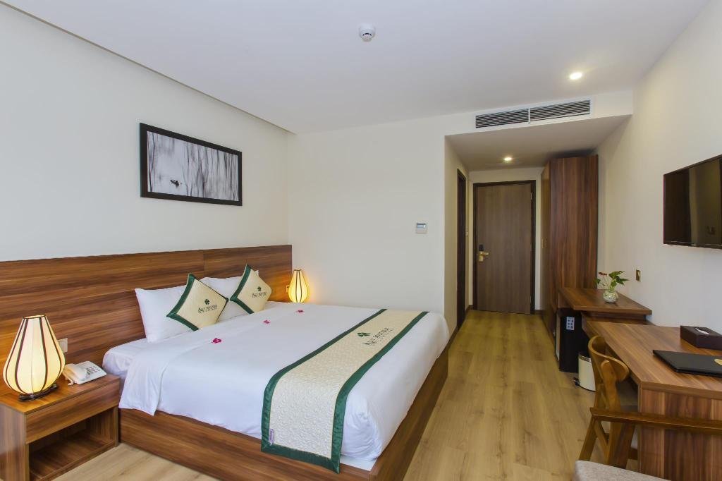 Superior Double or Twin Room - Room plan Ally Beach Boutique Hotel Hoian