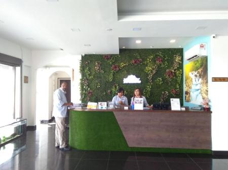 Lobby Degrand Boutique Hotel