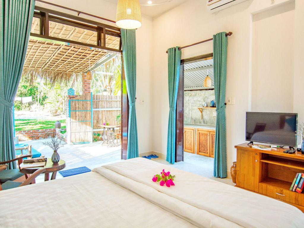 Guestroom TL An Bang Vu Nhi Homestay for Family with 4 persons