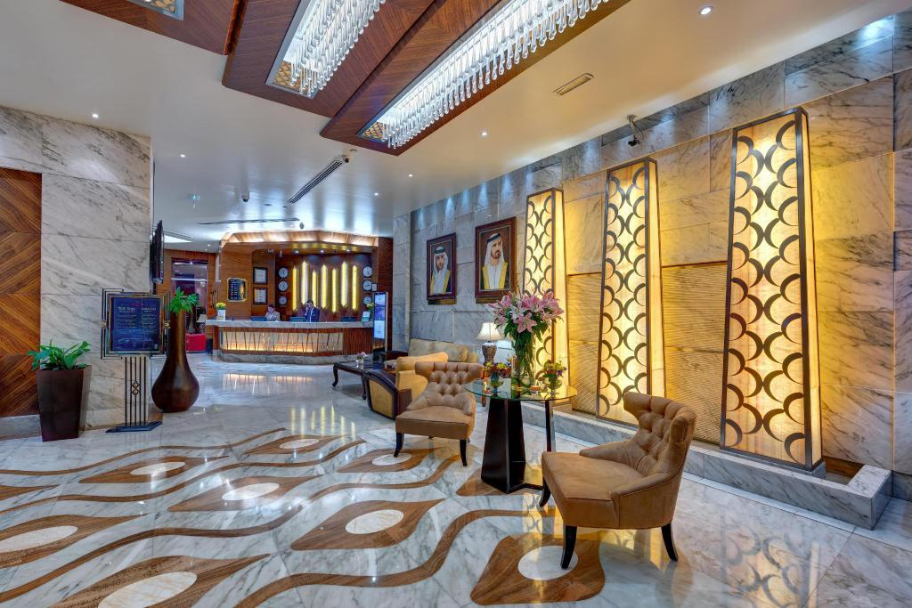 Lobby Grand Stay Hotel Dubai