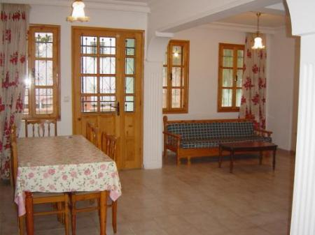 Interior view Villa Truva