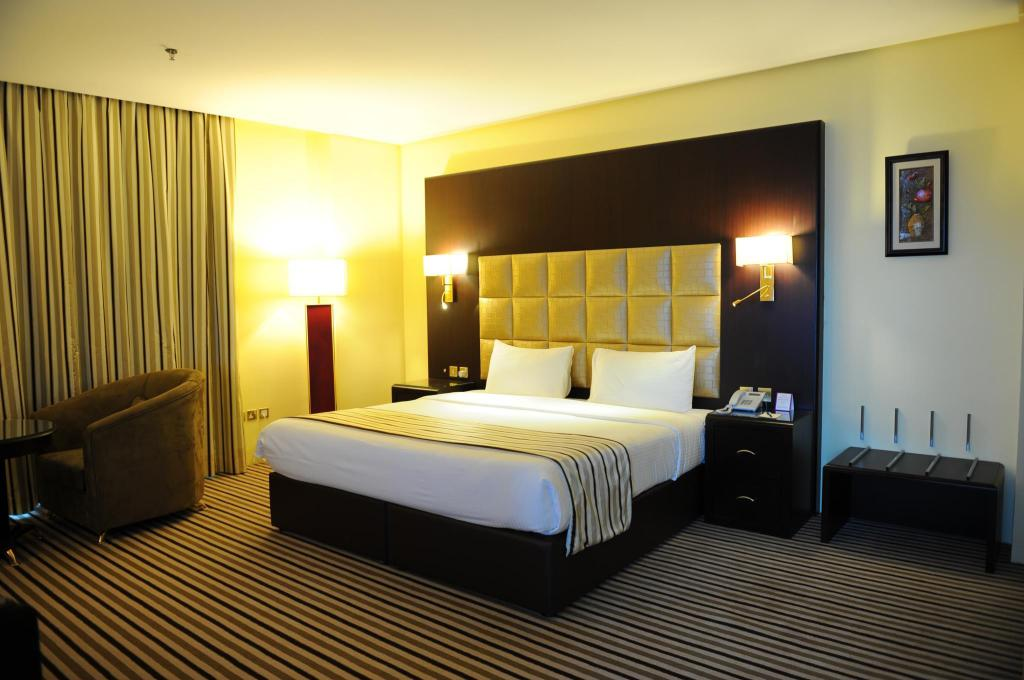 Deluxe Kingsize kamer Al Bastaki International Hotel