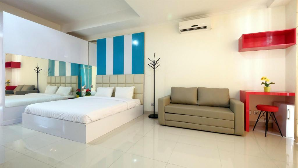 Family Studio Ancol Mansion Apartment - Travelio