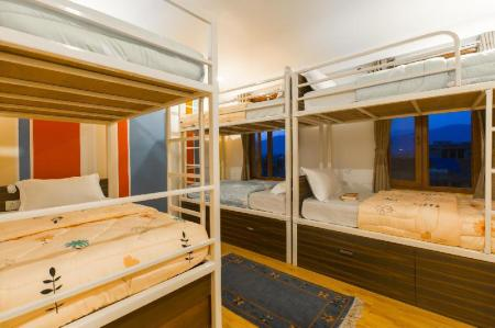 Bed in 6-Bed Dormitory Room with Shared Bathroom Zostel Kathmandu