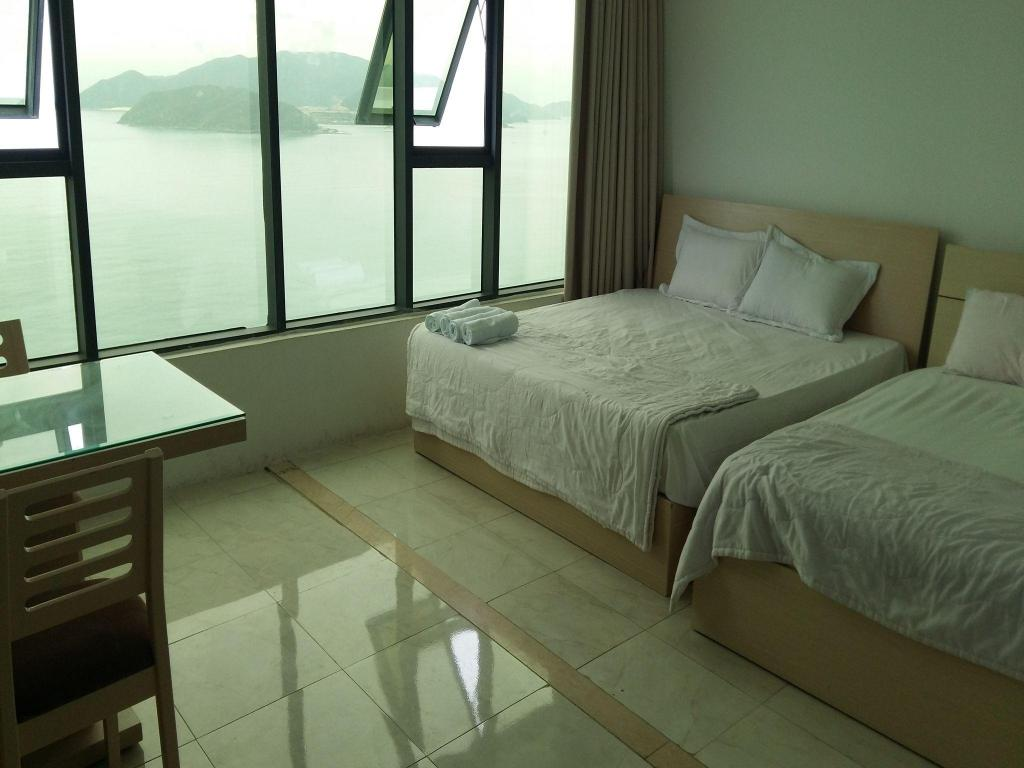 Bed Nha Trang Wonderland Apartment 37