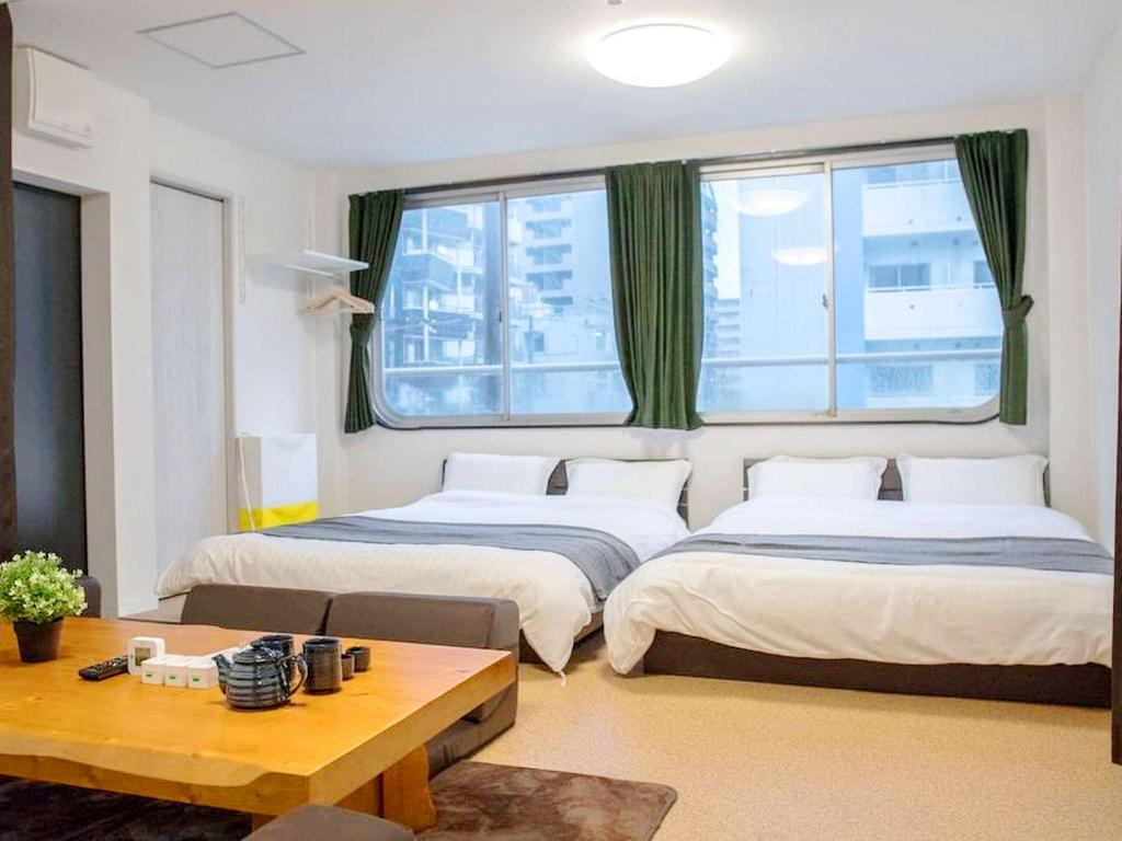 Guestroom TE Osaka 1 bedroom near Namba area M3