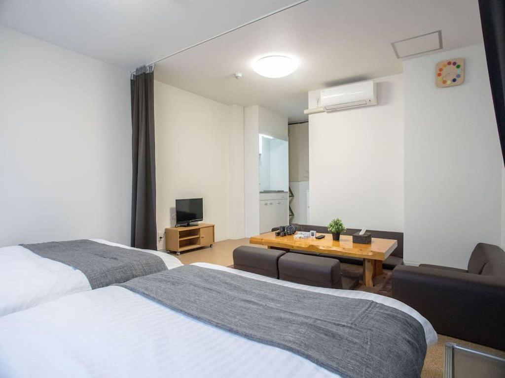 Interior view TE Osaka 1 bedroom near Namba area M3