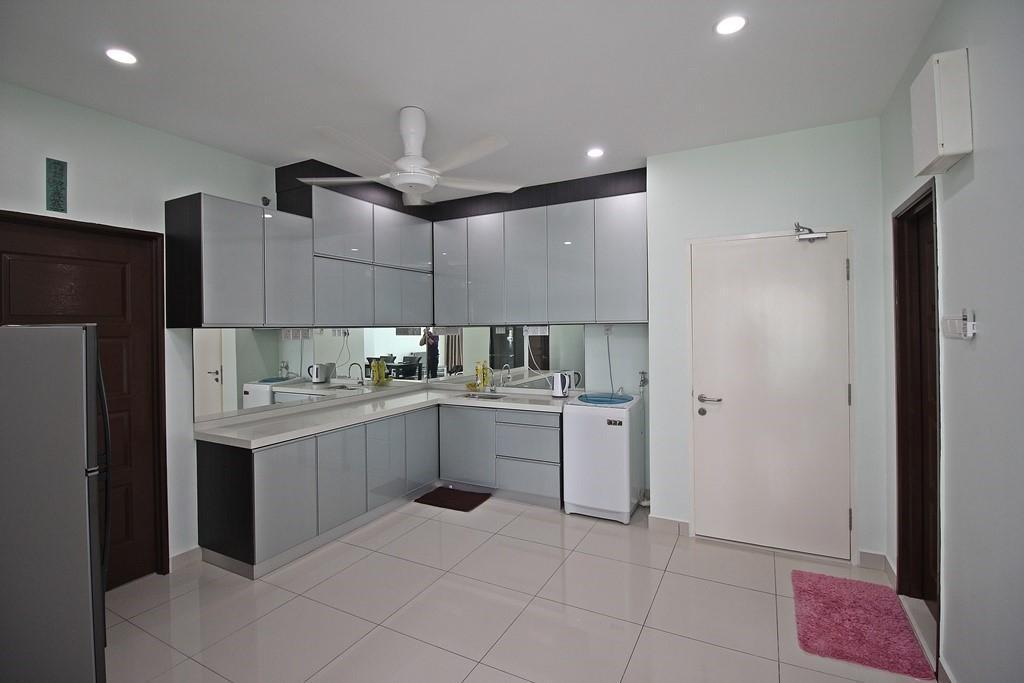 Keuken Mansion One Serviced Apartment Seaview Type F