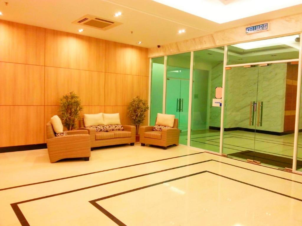 Lobby Mansion One Serviced Apartment Seaview Type F