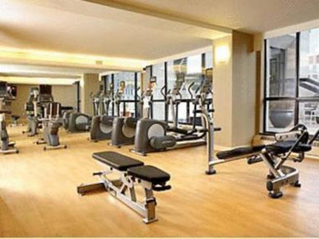 Fitness center Calgary Marriott Downtown Hotel