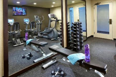Fitness center Anaheim Portofino Inn & Suites