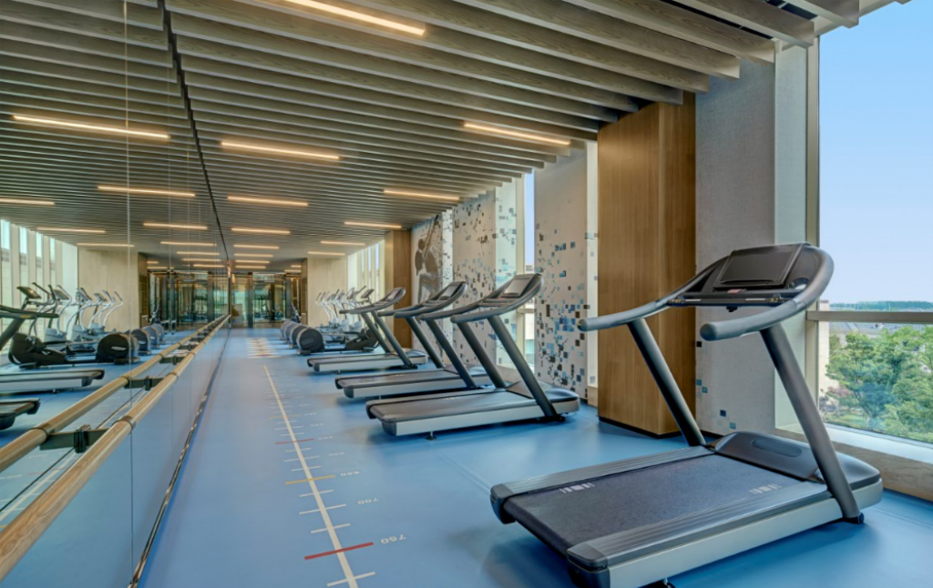 Fitness center Sheraton Shanghai Chongming Hotel