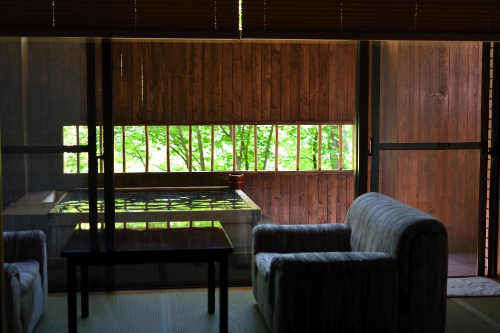 Japanese Style Room for 4 People with Open-Air Spa Bath - Guestroom Kuriyasuizan