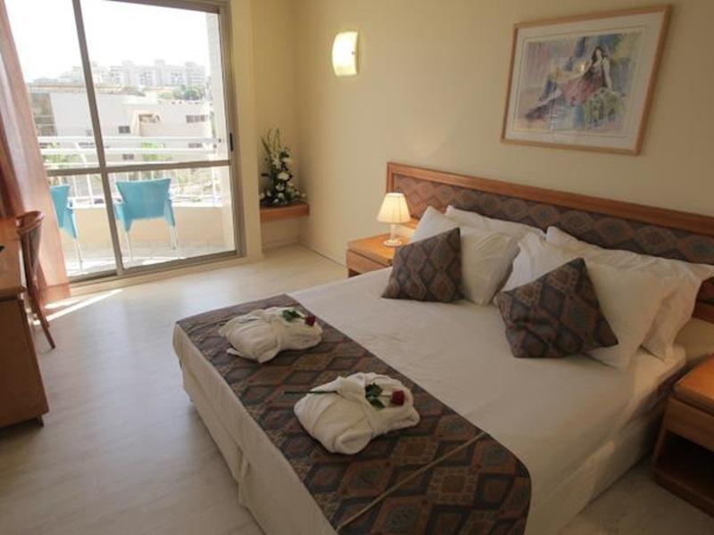 Standard Double or Twin Room with Balcony and Pool View