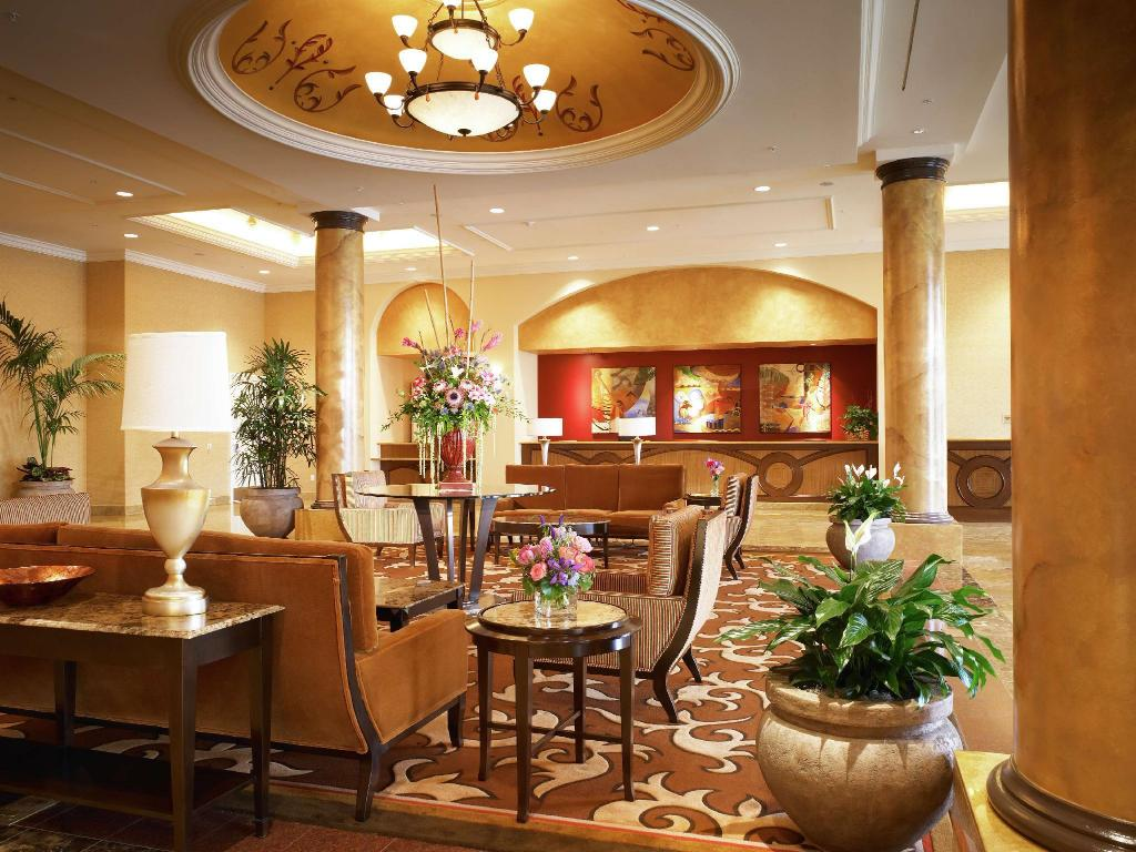 Lobby Doubletree Guest Suites Anaheim Resort Convention Center