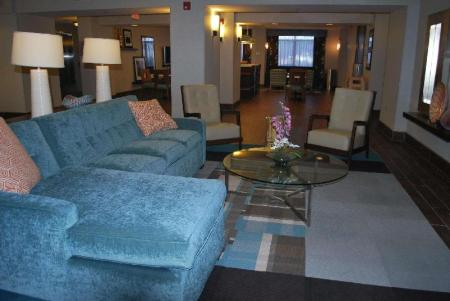 Lobby Hampton Inn Shreveport Airport