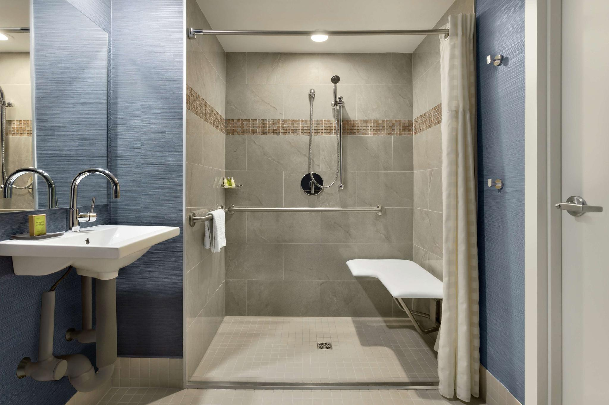 1 King Suite Accessible 3X3 Shower Non-Smoking