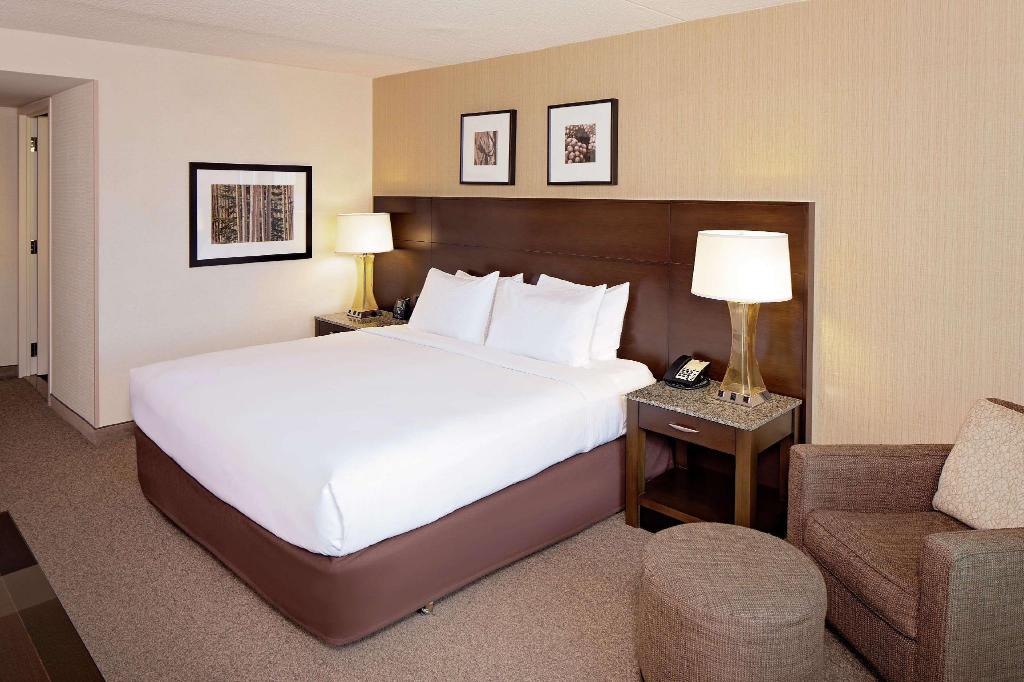 One King Bed - Guestroom DoubleTree by Hilton Boston Bayside