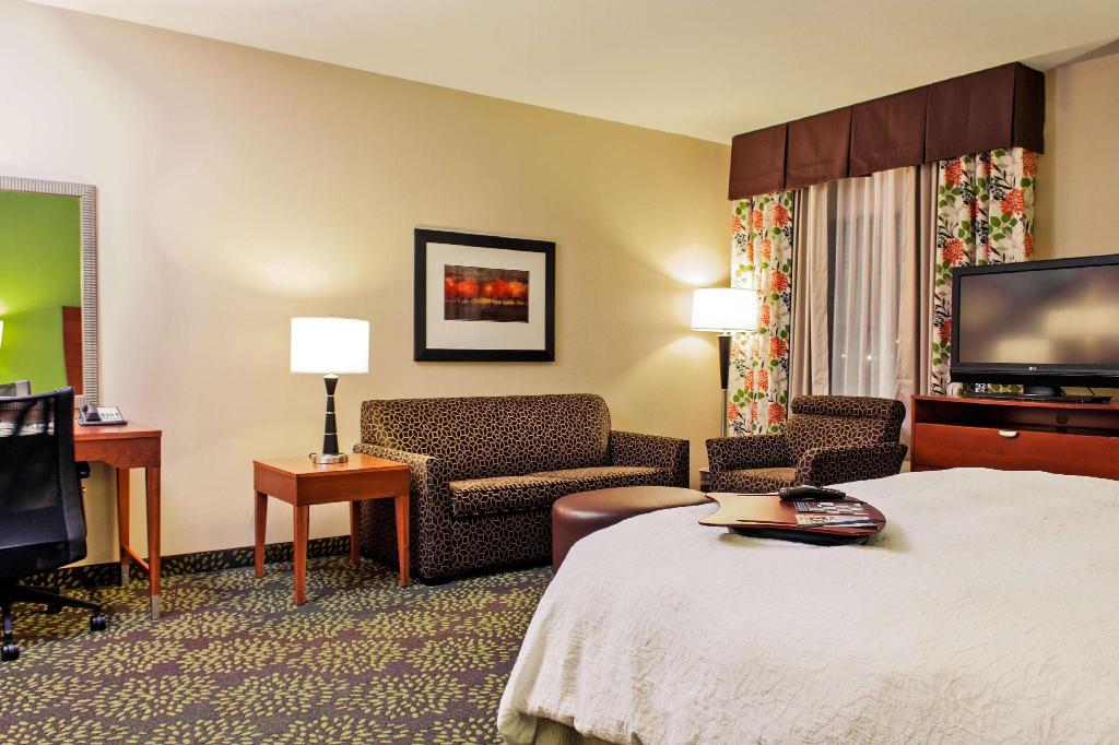 1 King Accessible Roll In Shower Non-Smoking - Guestroom Hampton Inn and Suites Harlingen