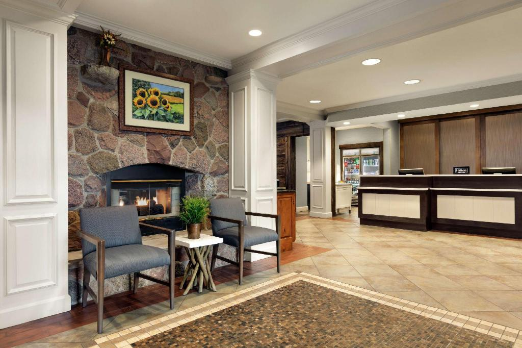 Lobby Homewood Suites by Hilton Syracuse/Liverpool
