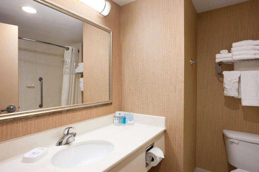 1 Queen Accessible Roll In Shower Non-Smoking - Guestroom
