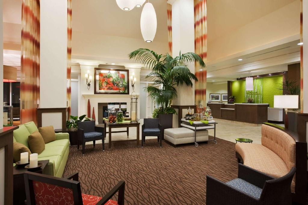 Lobby Hilton Garden Inn Salt Lake City Airport