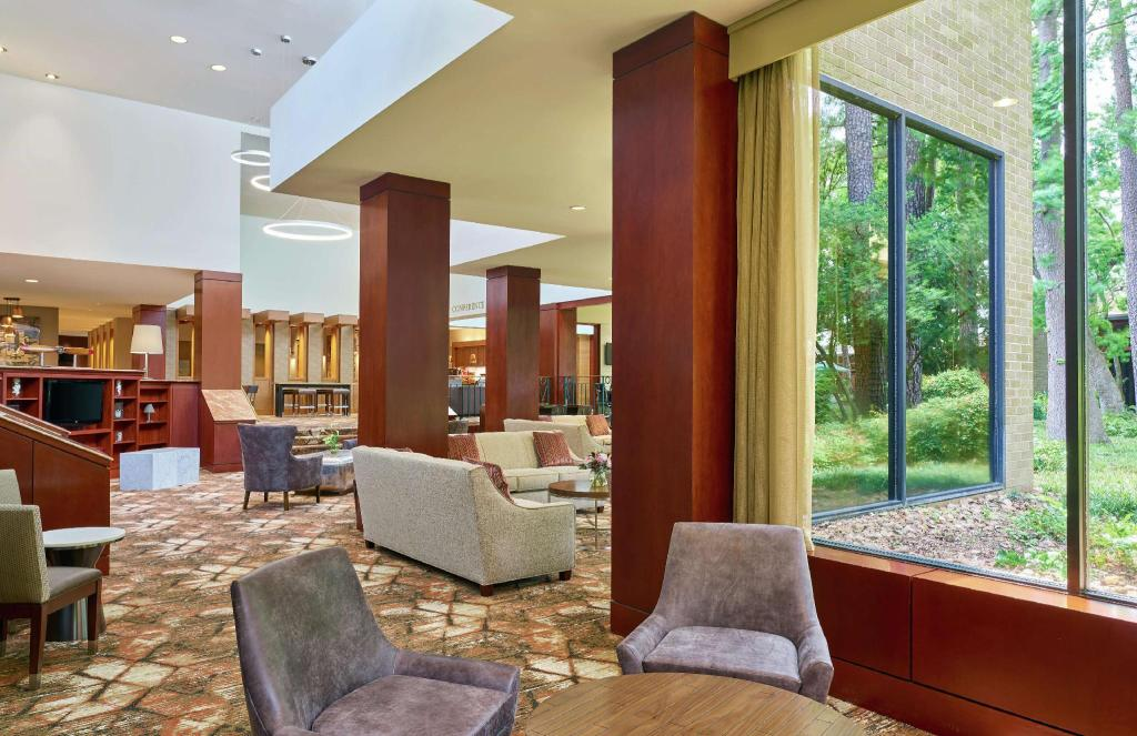 Lobby Doubletree Houston Intercontinental Airport Hotel