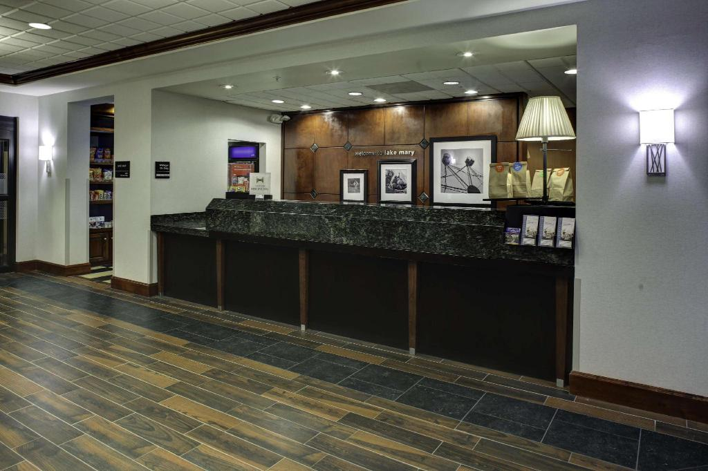 Lobby Hampton Inn & Suites Lake Mary At Colonial Townpark