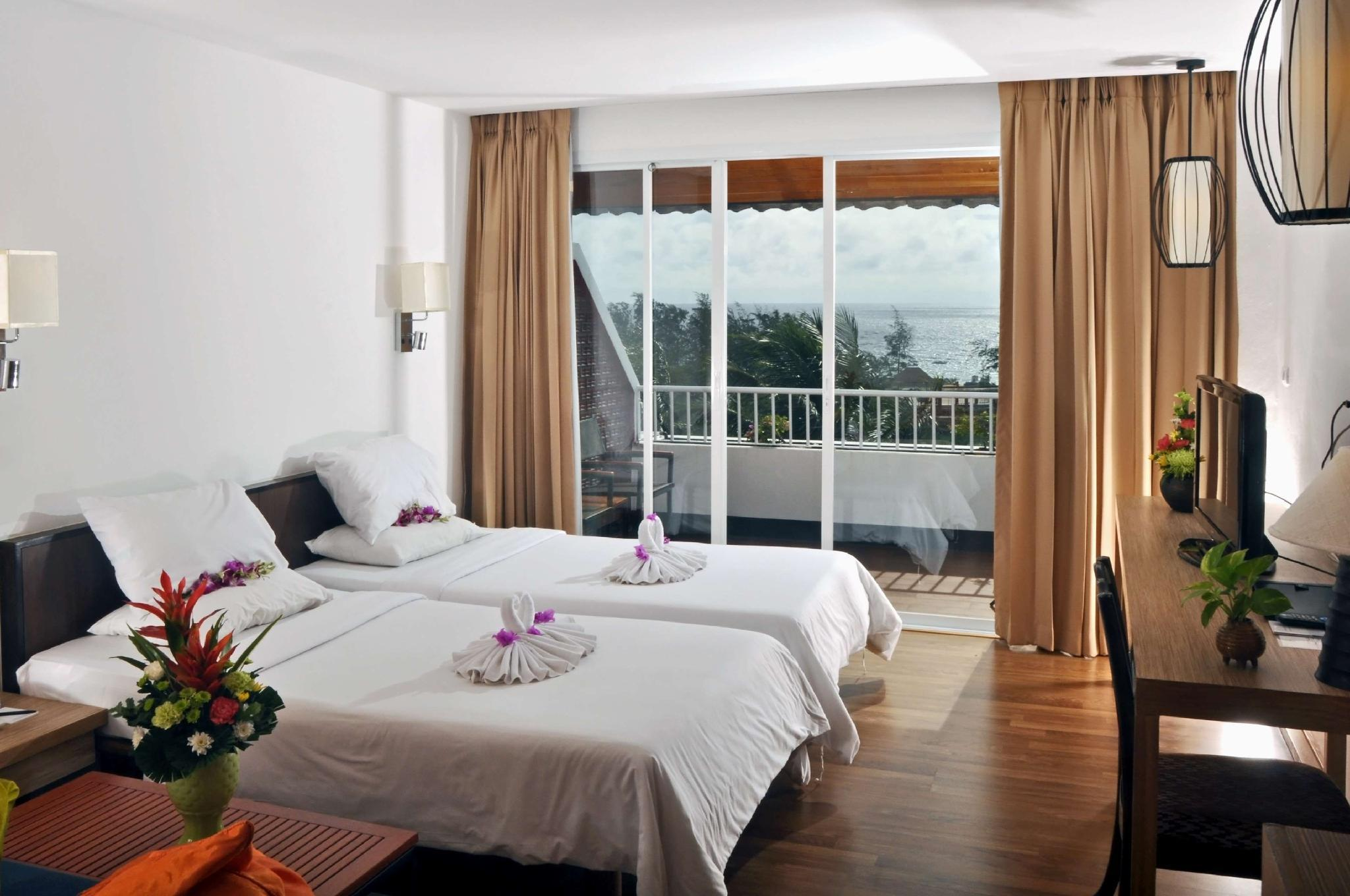 Deluxe Room with 2 Single Beds Ocean View Non Smoking