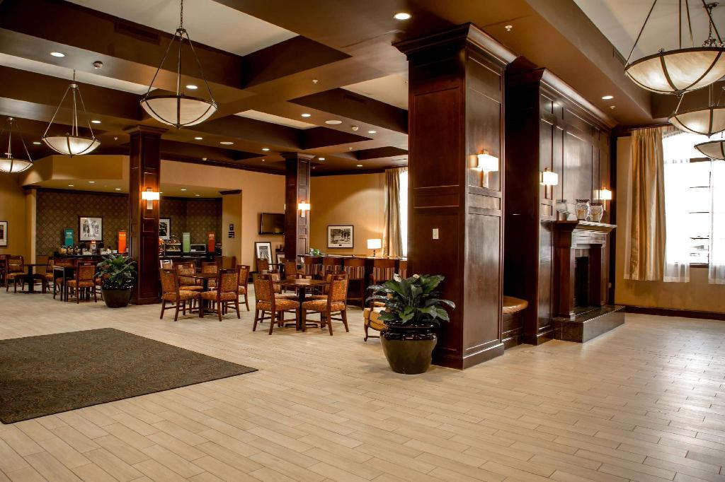 Lobby Hampton Inn & Suites Albany Downtown