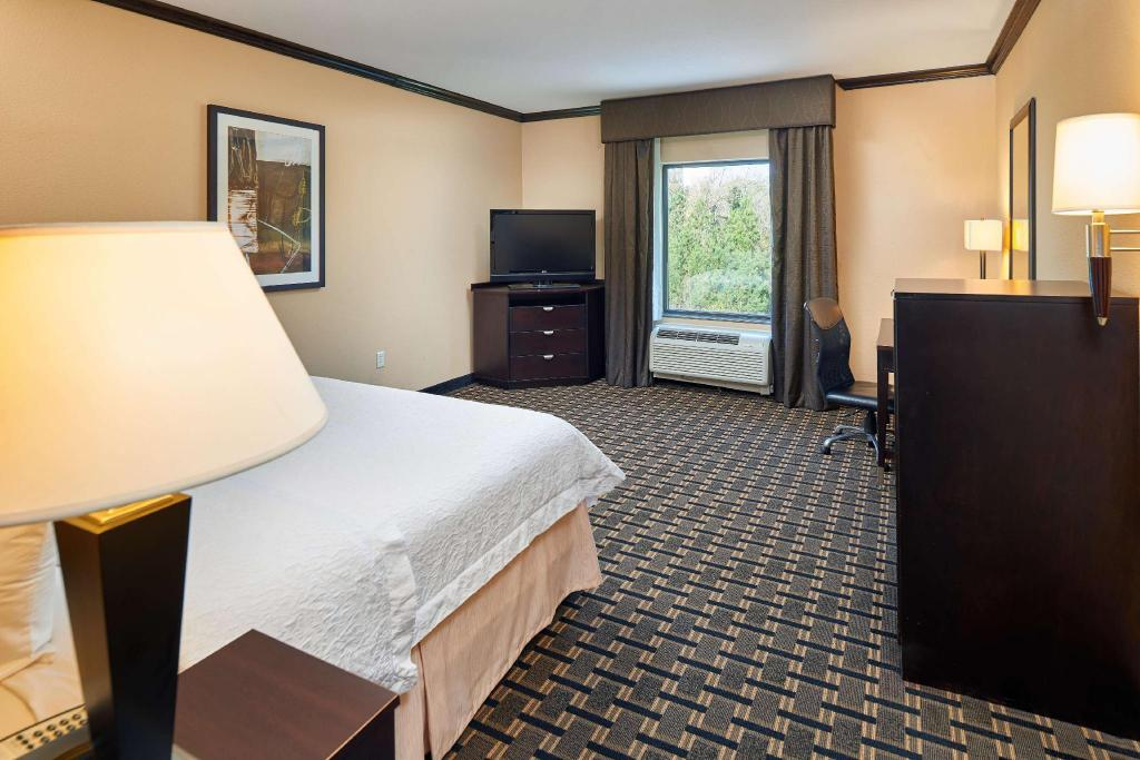 1 King Bed Non-Smoking - Guestroom Hampton Inn and Suites Longview