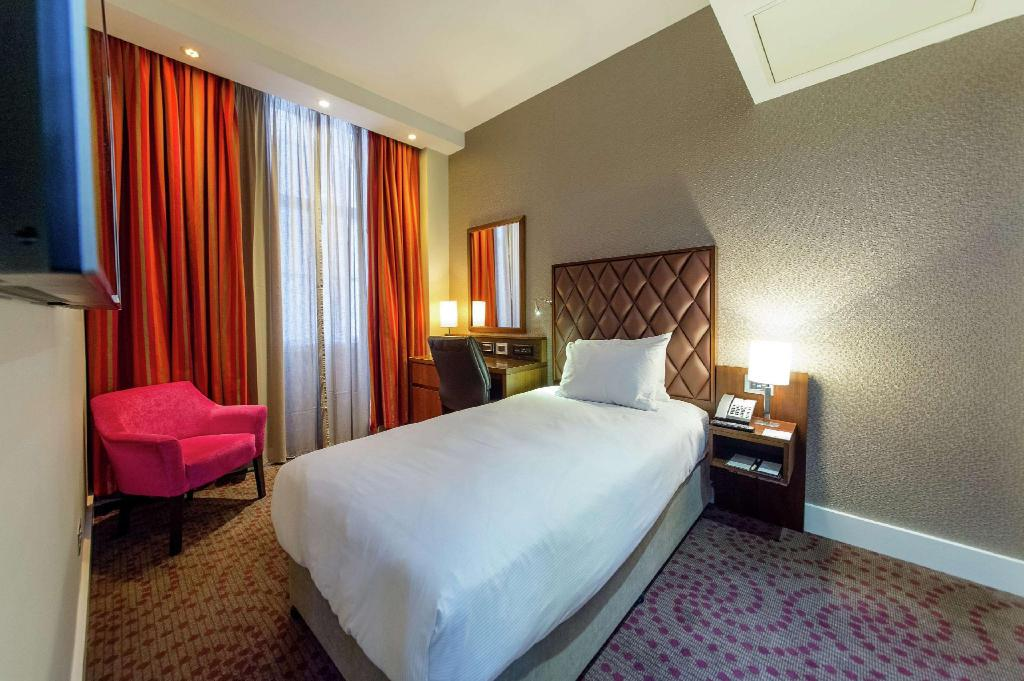 Single Guest Room - Guestroom DoubleTree by Hilton London Marble Arch