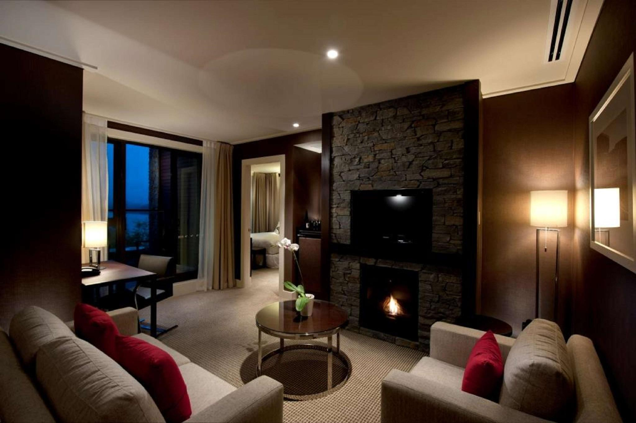 King-suite ved Wakatipu flod (King Lake Wakatipu Suite)
