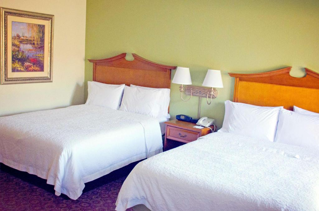 2 Queen Beds Non-Smoking - Guestroom Hampton Inn & Suites College Station/US 6-East Bypass