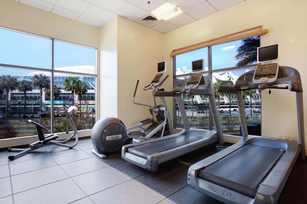 Fitness center Hilton San Diego Gaslamp Quarter Hotel