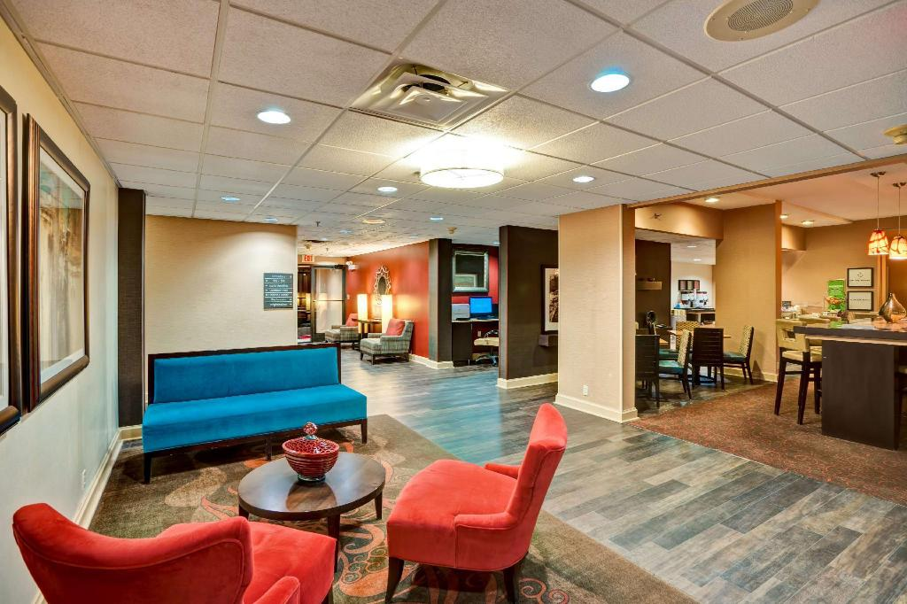 Lobby Hampton Inn Beckley