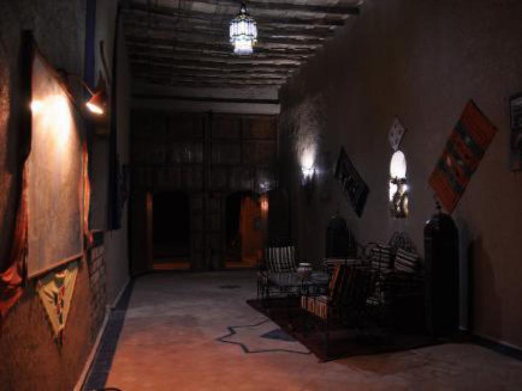 Interior view Riad Mamouche