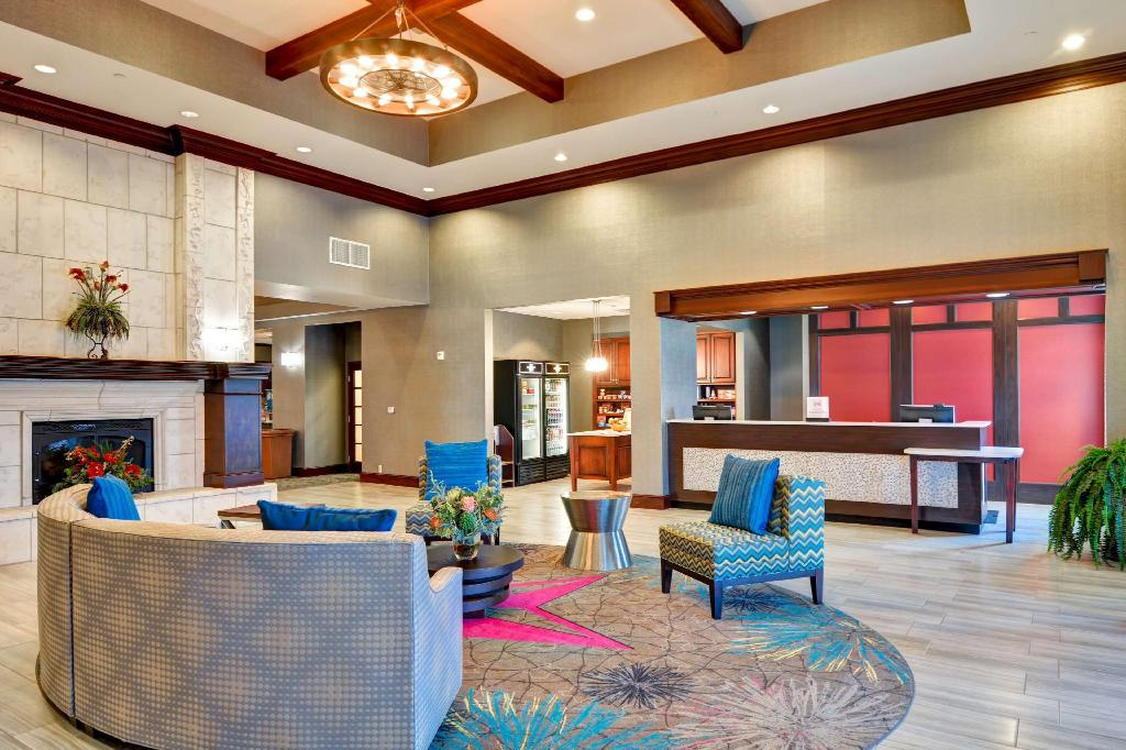 Lobby Homewood Suites by Hilton Amarillo